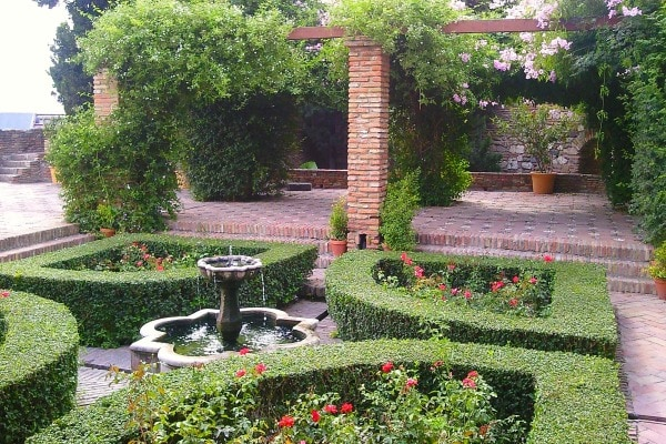 One of the best things to do in Malaga is to visit the beautiful patios of The Alcazaba