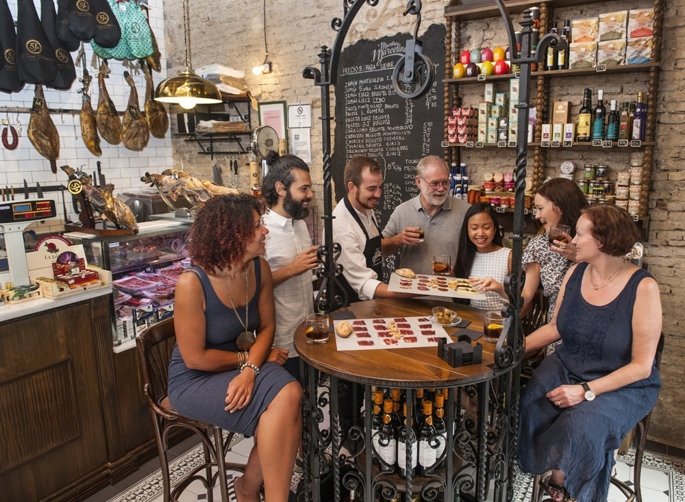 best walking tour in Seville for foodies