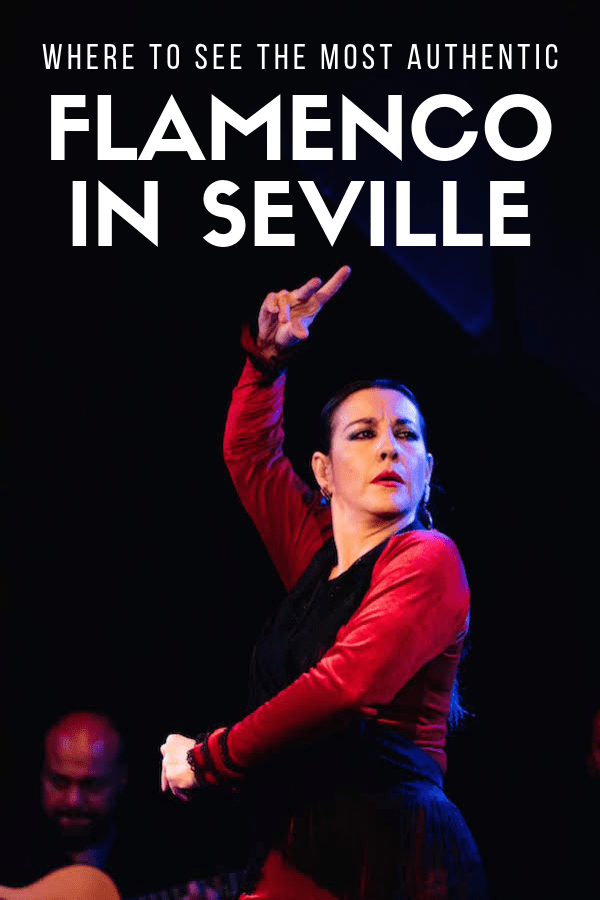 One of the best things to do in Sevilla, Spain is to watch a flamenco show. But the beautiful dancers and their pretty dresses are just one aspect of this performance—the music itself is crucial! Here are some of the best places to see authentic flamenco in Seville for an experience you'll never forget. #Seville #flamenco