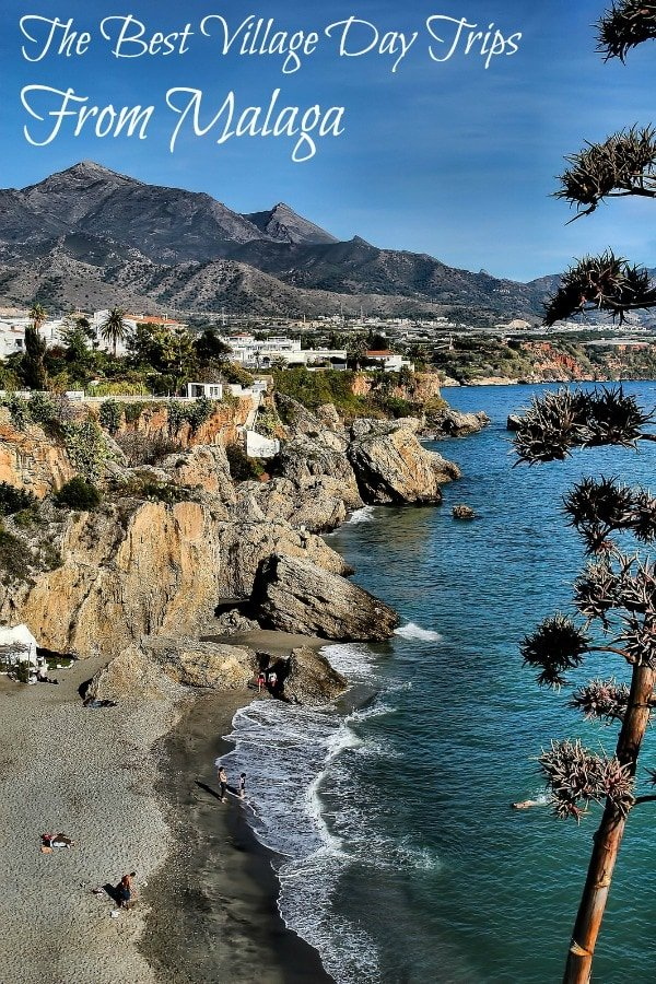 Step out of the city and into the magic of the villages near Malaga, Spain! Some of our absolute favorite white villages are in Malaga province, just a quick day trip from Malaga capital. If you're visiting Andalusia, you really won't want to miss them. #daytrip #travel #summervibes #beach #malaga #spain
