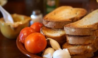 Pan con tomate in Barcelona