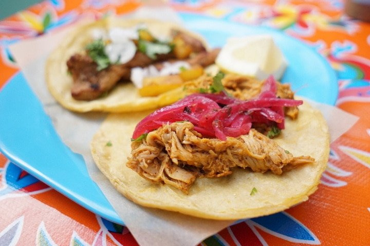 Tacos in Madrid