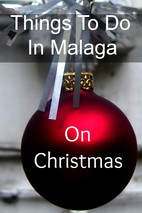 Things to do in Malaga on Christmas