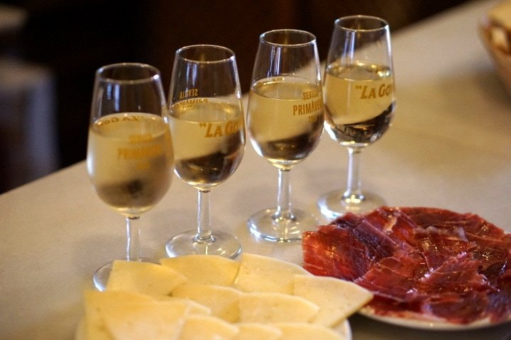 ham and sherry tour in Seville