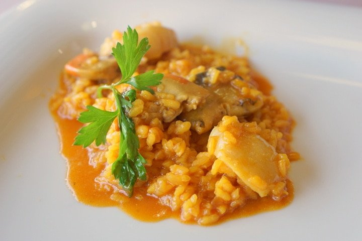 Galician rice dish