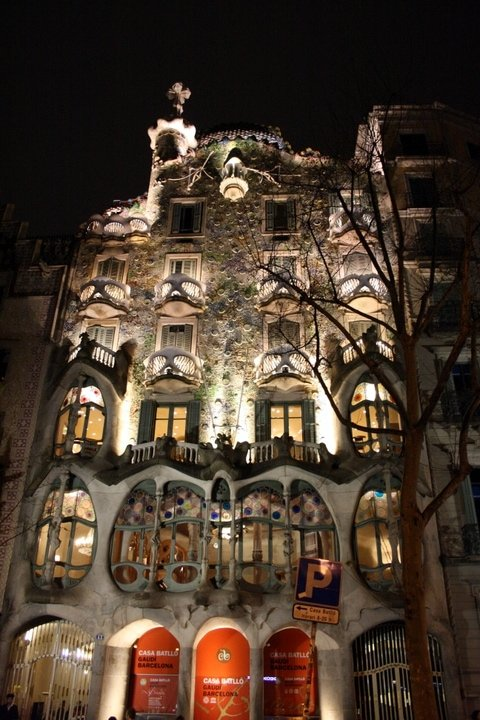 Gaudi in Barcelona, where to stay in Barcelona