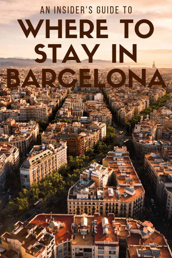 Narrowing down where to stay in Barcelona can be tricky. Do you want to be near the beach, or would you rather have amazing shopping and restaurants close by? From Barceloneta to the Gothic Quarter, this guide breaks down the pros and cons of each of the major Barcelona neighborhoods, and gives you a few options for accommodation in each. #Barcelona