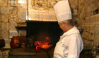 The old ovens at Botin-- a Madrid icon! Botin restaurant tour Devour Madrid.