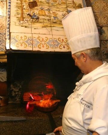 The old ovens at Botin-- a Madrid icon! Botin restaurant tour Devour Madrid.