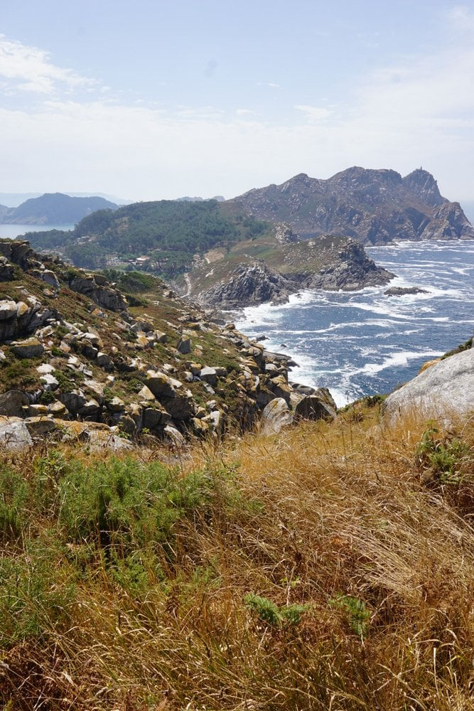 Incredible views from hiking the Cies Islands Galicia