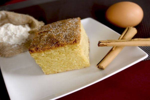 Bica, a local sponge cake, is one of the most popular typical dessert from Galicia. Try it with a good cup of coffee for the perfect after-dinner treat!