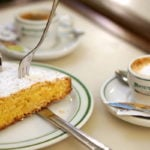 One of the best gourmet food gifts from Santiago is this delicious local almond cake!