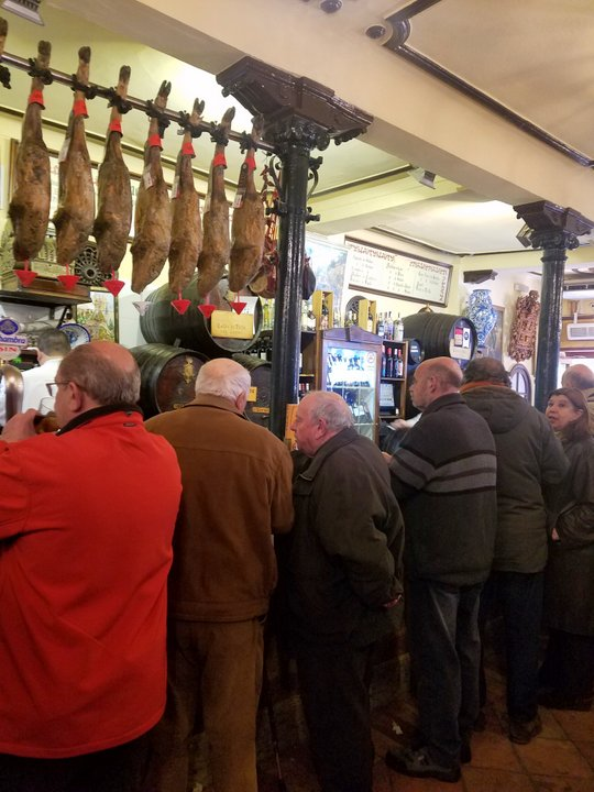 best tapas bars Granada