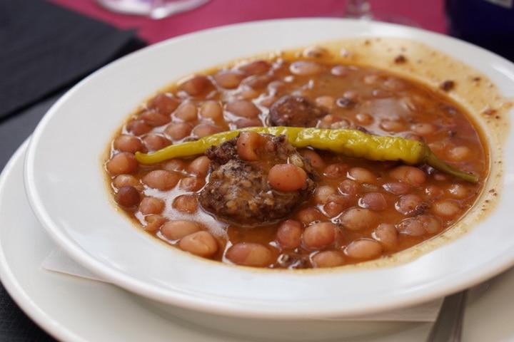 Delicious stew in La Rioja; typical food in La Rioja