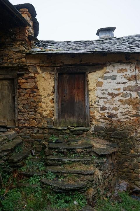 Pozos ruin in rural Spain