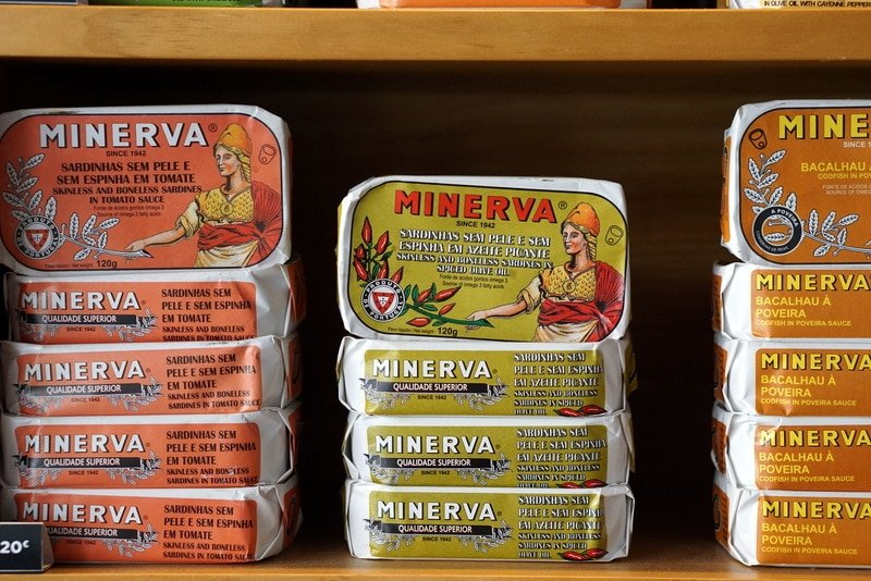 Canned food in Spain
