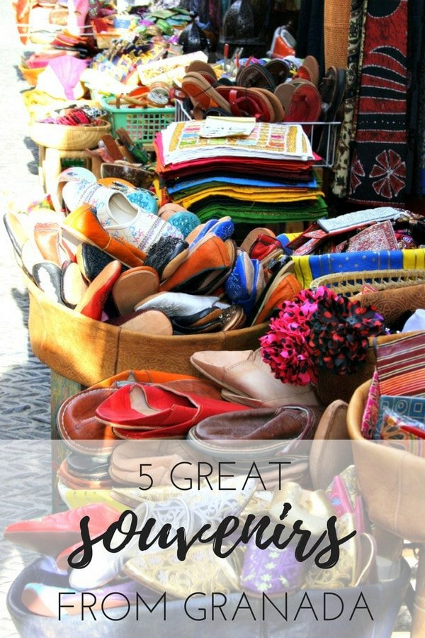 You've had the trip of a lifetime in Andalusia. Now remember it by picking up one of these beautiful local souvenirs in Granada that are as unique as the city itself.