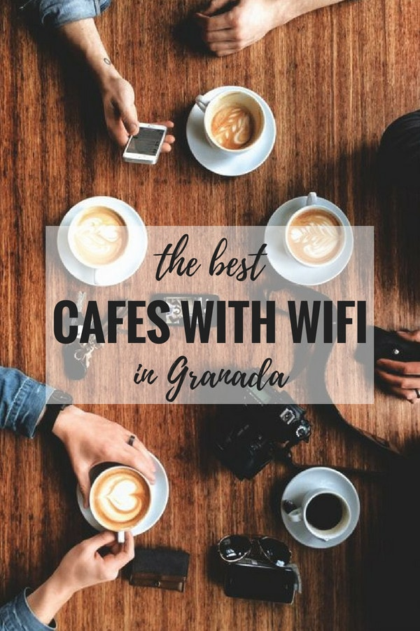 Enjoy a nice hot cup of coffee while staying connected on your trip to Granada. Here's where to find the best cafes with wifi in Granada.