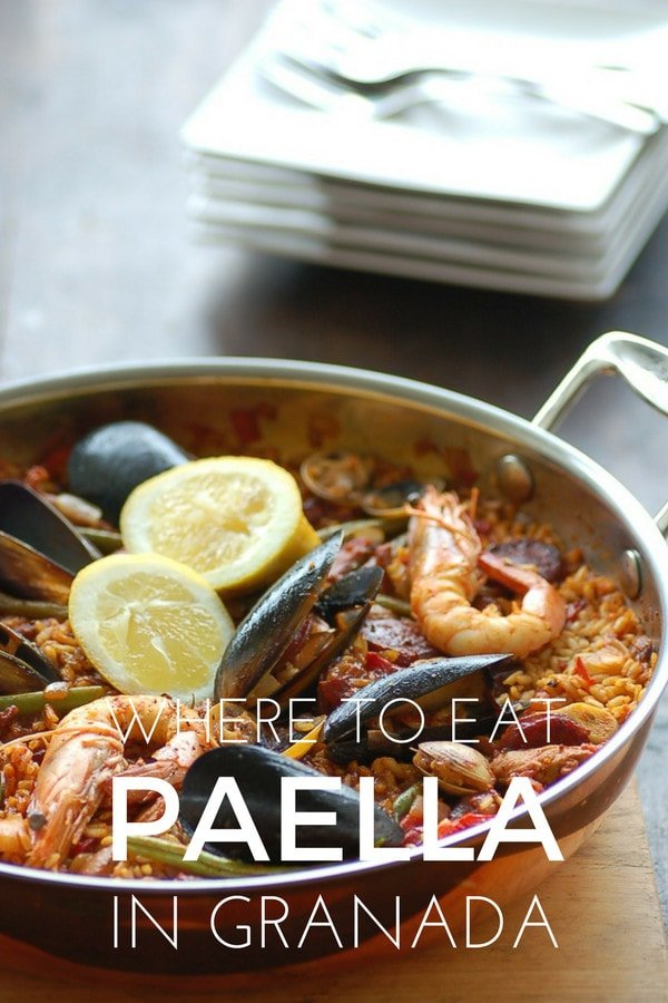 Want to try one of the most beloved Spanish foods? Here's where to eat the best paella in Granada.