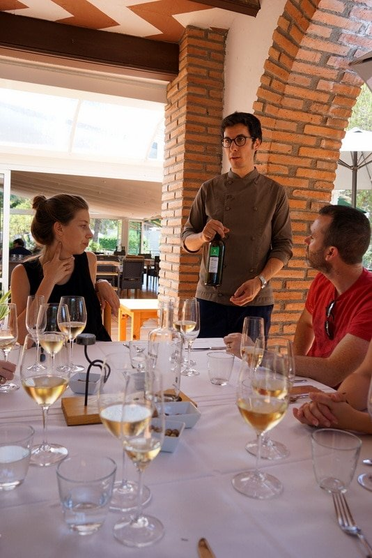 Chef Gonzalo on the Wine and Cava Day Trip from Barcelona