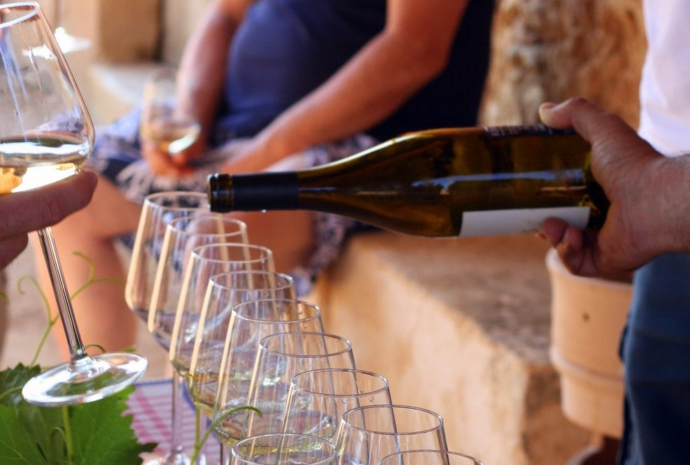 The tasting is undoubtedly the most exciting part of the vineyard tours near Granada, where you see the processes of wine-making in full effect.
