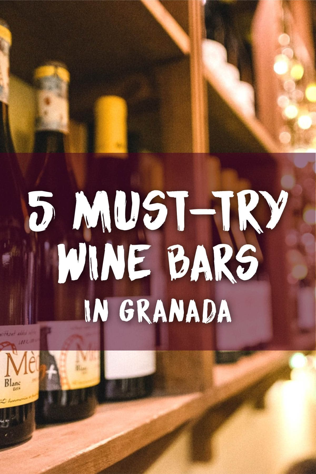 Itching to try a selection of delicious Andalucian wines? Step into one of our favorite wine bars in Granada and enjoy some of the best vino in town!