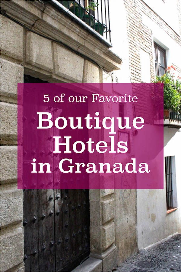 These luxurious boutique hotels in Granada will help you make the most of your vacation and relax in style.