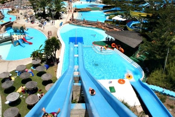 Visiting a water park such as Aquamijas is one of the most fun kid-friendly activities in Malaga.