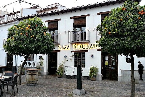Casa Torcuato has a wide variety of food, from tapas to pulpo, making it one of the most diverse places to eat in the Albayzín.
