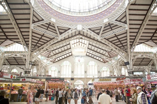 You'll love the amazing variety of food at Mercado Central Valencia. It's easily one of our favorite things to see in Valencia!