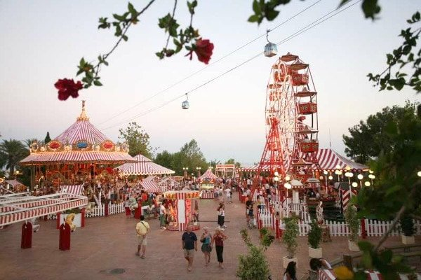 A day at Tivoli World amusement park is one of the most fun kid-friendly activities in Malaga, and enjoyable for the entire family.