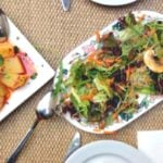 Ana Eva offers some of the best vegetarian tapas in Valencia, prepared with vegetables from their own garden.