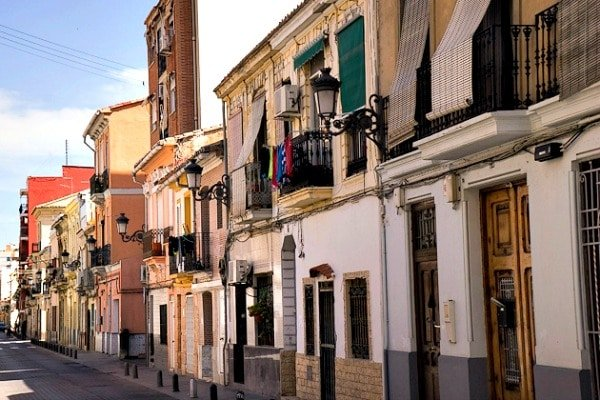 The Cabanyal district is home to one of the most authentic local markets in Valencia.