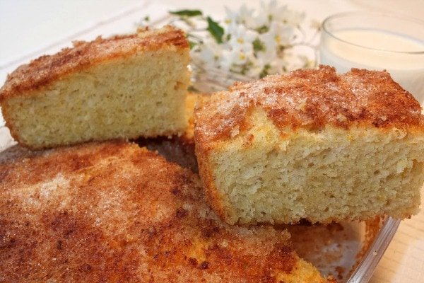 Coca de llanda is one of the most typical desserts from Valencia. It also comes in savory varieties.