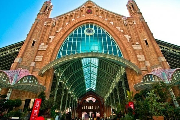 Mercado Colón is one of the most popular markets in Valencia.