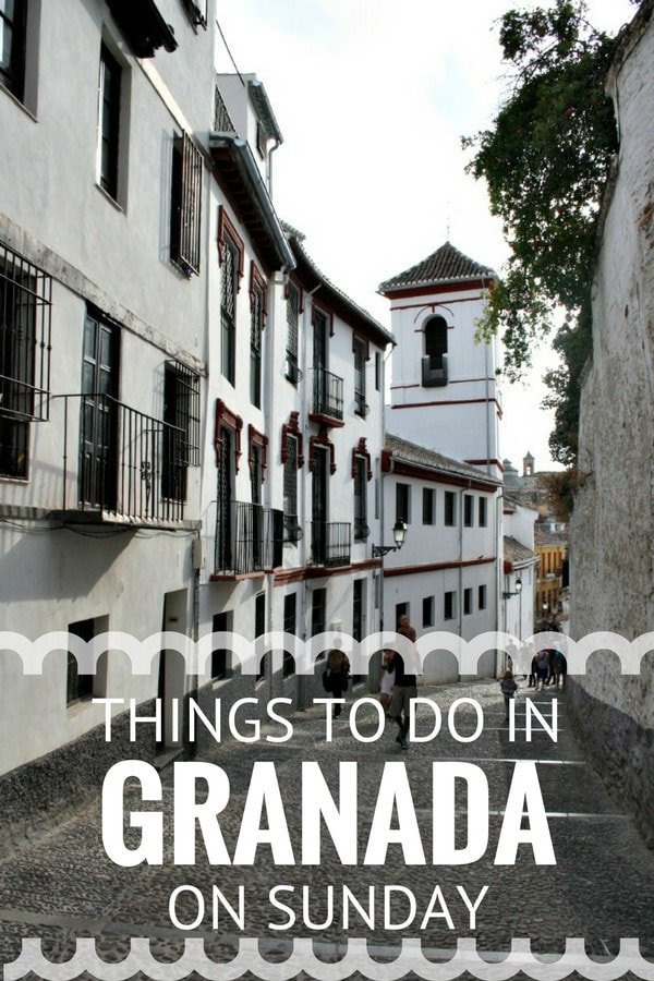 There's no shortage of things to do in Granada on Sunday. Enjoy a relaxing day with family and friends to finish off your weekend in Spain's Moorish jewel.