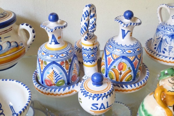 Artisan ceramics and socarrat tiles make beautiful souvenirs from Valencia.