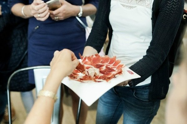 Spain's famous cured ham is easily one of the best picks for gourmet food gifts from Malaga!