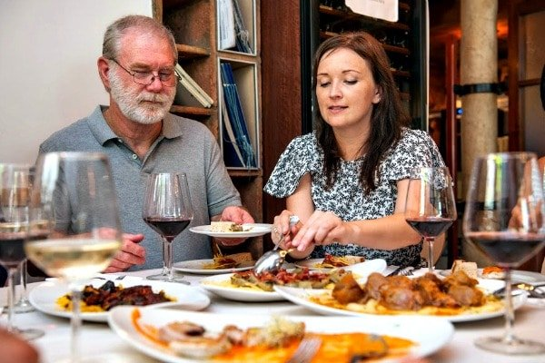 Step 1 to eat like a local in Granada: decide if you want tapas or a full meal!