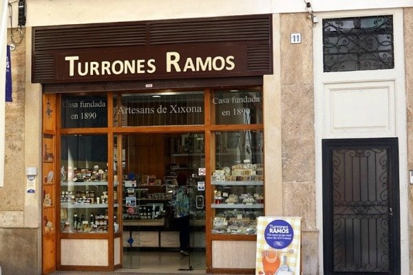 Turrón is one of the most delicious souvenirs from Valencia. We love Turrones Ramos!