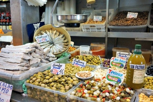 Atarazanas Market is more than just one of Malaga's best markets. It's also one of the top places to buy olive oil in Malaga!