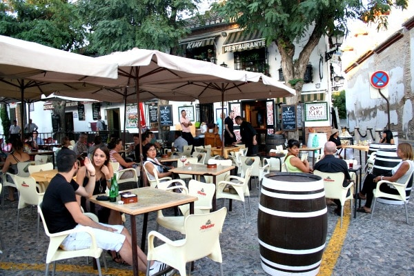 "Tapas crawling is one of the essential tourist ""attractions"" in Granada!"