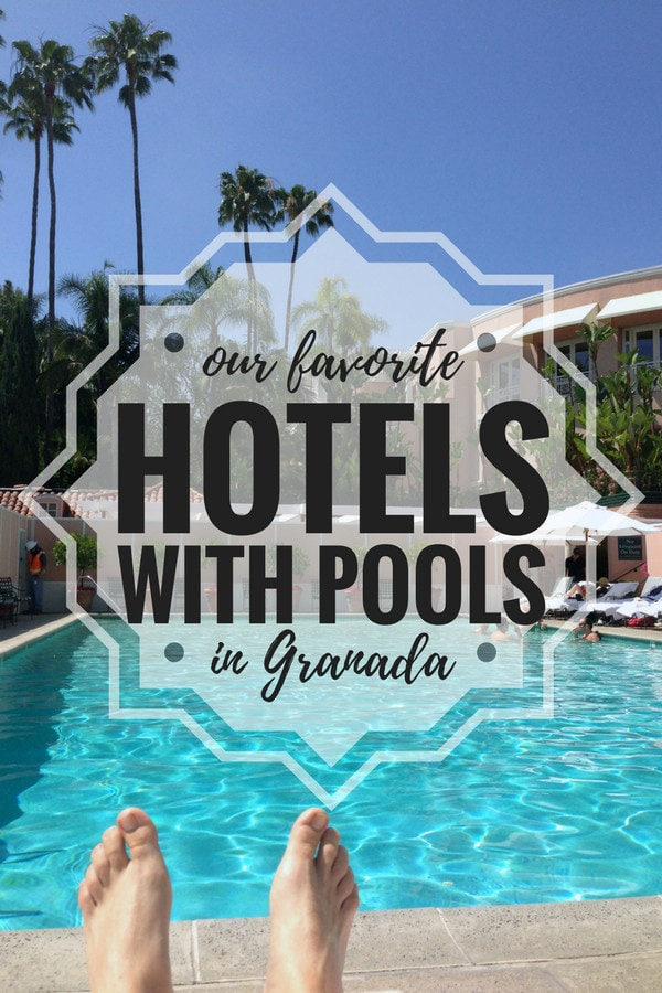 Cool off and relax in style at one of these incredible hotels with pools in Granada!