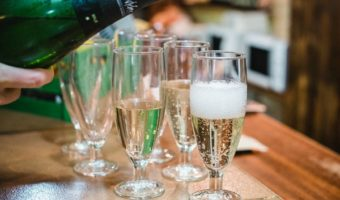 Celebrate New Year's Eve in Malaga with a delicious glass of cava for your midnight toast!