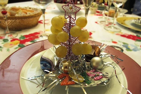 Eating the 12 grapes at midnight is an important tradition on New Year's Eve in Valencia!