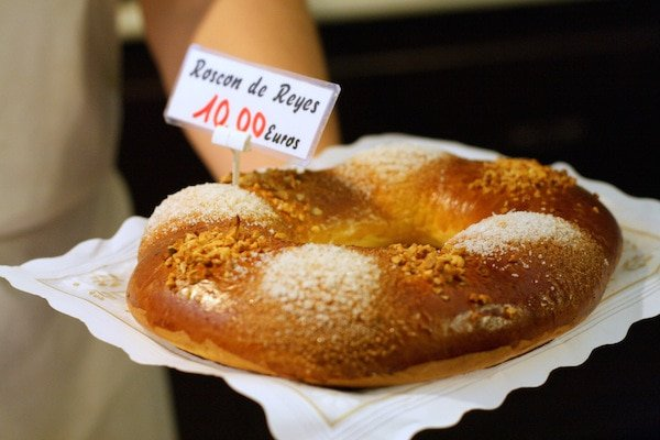 Be sure to eat roscón de reyes if you're visiting Valencia in winter!