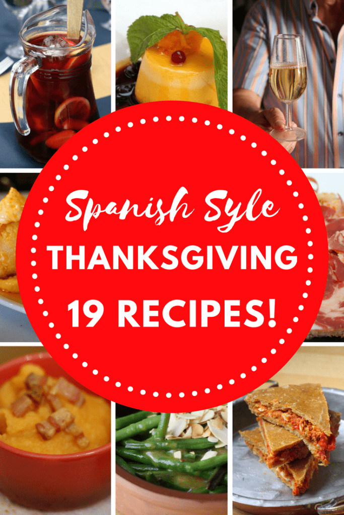 19 Spanish Thanksgiving dishes like Manchego mashed potatoes and chorizo cornbread. The perfect way to add a Spanish twist to Thanksgiving!