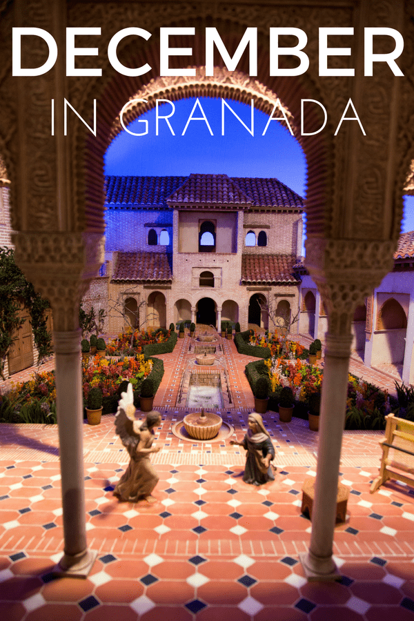 Visiting Granada in December? Here are some must dos, must sees and must eats.
