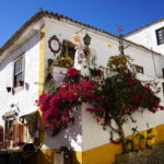 Pretty Óbidos, a gorgeous village in Central Portugal.