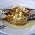 """Delicious """"carapau"""" in Nazaré; traditional Portuguese food"""